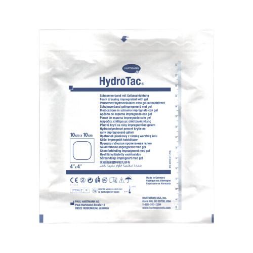 HydroTac / ГидроТак - губчатая повязка с гидрогелевым покрытием, 10x10 см