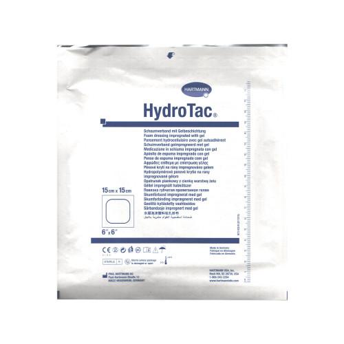 HydroTac / ГидроТак - губчатая повязка с гидрогелевым покрытием, 15x15 см