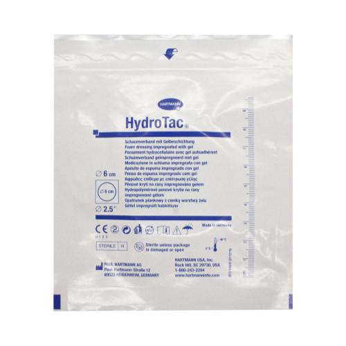 HydroTac / ГидроТак - губчатая повязка с гидрогелевым покрытием, диаметр 6 см