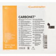 Carbonet / Карбонет - дезодорирующая неадгезивная повязка с активированным углём, 10x10 см