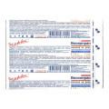 ВоскоПран с мазью Левомеколь - противовоспалительная раневая повязка, 5x7,5 см