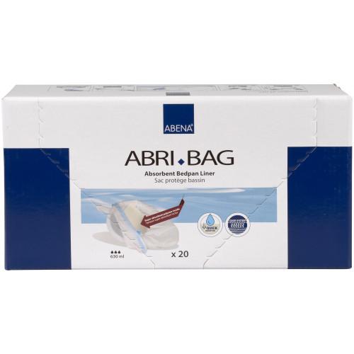 Abena Abri-Bag / Абена - впитывающие гигиенические пакеты для судна, 60x39 см, 20 шт.