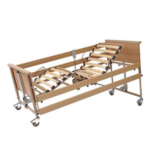 Economic II / Экономик II - кровать медицинская, функциональная, с электроприводом, с принадлежностями, деревянная