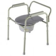 Barry / Барри - кресло-туалет стальное