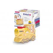 B.WellPRO-115 / Би Велл - компрессорный ингалятор, детский, Паровозик
