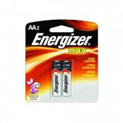 Energizer Max Alkaline / Энерджайзер - батарейка, AA, 1,5V, 2 шт.