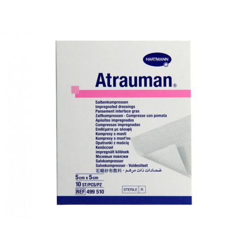 Atrauman / Атрауман - стерильная мазевая повязка, 5x5 см