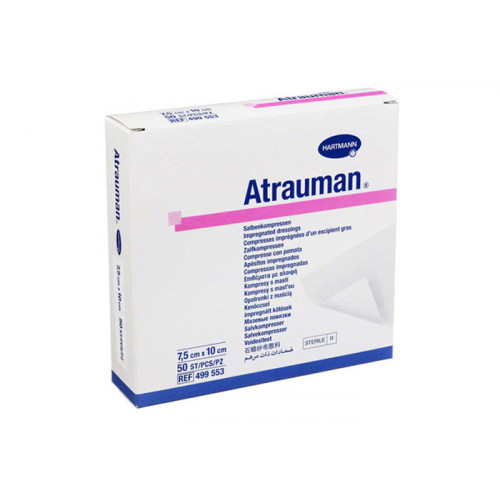 Atrauman / Атрауман - стерильная мазевая повязка, 7,5x10 см