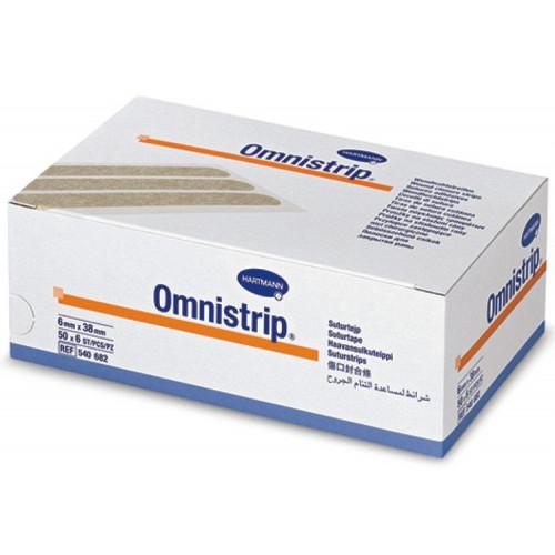 Omnistrip / Омнистрип - стерильные полоски на операционные швы, 6x38 мм,  6 шт.