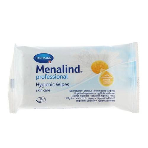 Menalind Professional / Меналинд Профешнл / MoliCare Skin - влажные гигиенические салфетки, 10 шт.