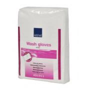 Abena / Абена - рукавицы для мытья Эйрленд без пленки, 50 шт.