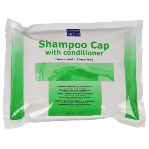 Abena Shampoo Cap / Абена Шампу Кэп - шапочка с шампунем для мытья волос без воды