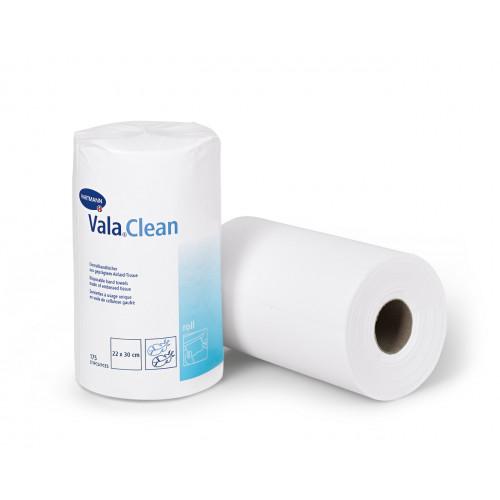 Vala Clean Roll / Вала Клин Ролл - одноразовые полотенца в рулоне, 22х30 см