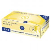 [недоступно] Sempercare (Safe&Care) / Семперкейер - латексные перчатки двукратного хлорирования, не опудренные, M, 100 шт.