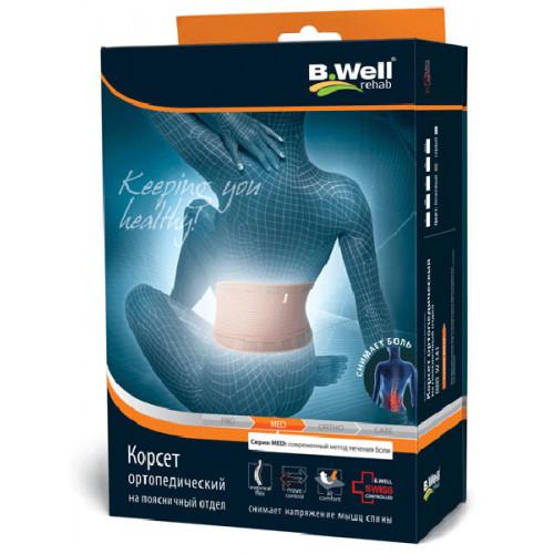 B.Well W-141 / Би Велл - корсет ортопедический, XXL, бежевый