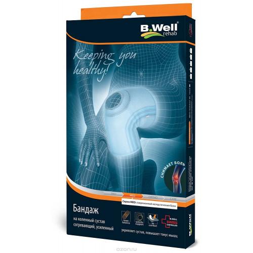 B.Well W-3314 / Би Велл - бандаж на коленный сустав, M, серый