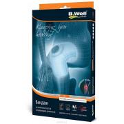 B.Well W-3314 / Би Велл - бандаж на коленный сустав, XL, серый