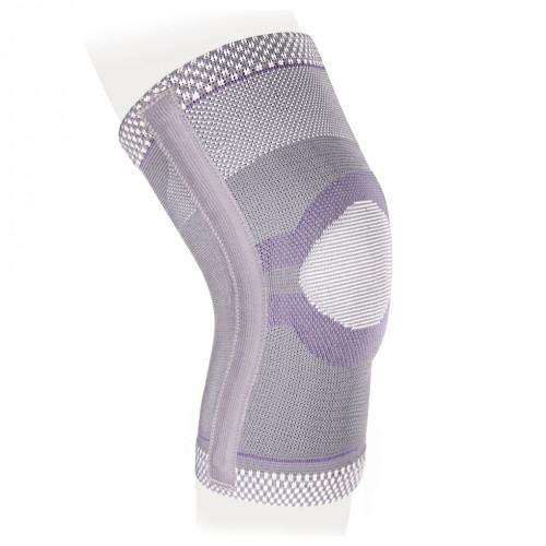 Ecoten / Экотен - бандаж на коленный сустав KS-E03, эластичный, силиконовое кольцо, два ребра жесткости, XXXL