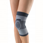 Trives / Тривес - бандаж на коленный сустав Т-8520, компрессионный, с силиконовым кольцом, XXL