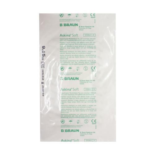 Askina Soft / Аскина Софт - послеоперационная повязка, стерильная, 9x15 см