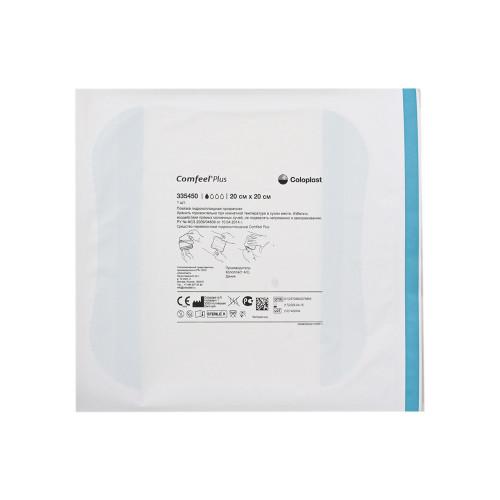 Comfeel Plus / Комфил Плюс - гидроколлоидная прозрачная повязка, 20х20 см