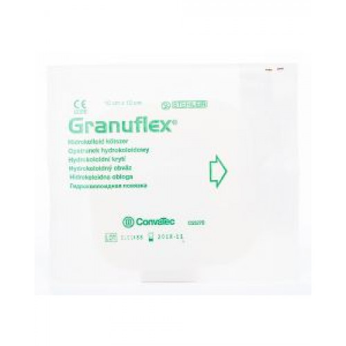 Granuflex / Грануфлекс - гидроколлоидная повязка, 15х15 см