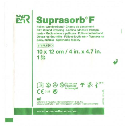 Suprasorb F / Супрасорб Ф - стерильная прозрачная пленка для перевязки ран, 10x12 см