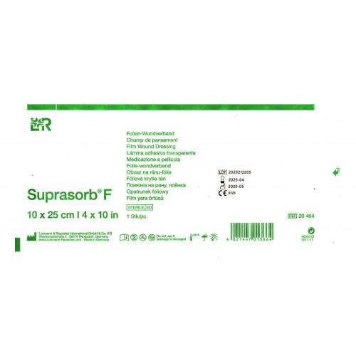 Suprasorb F / Супрасорб Ф - стерильная прозрачная пленка для перевязки ран, 10x25 см