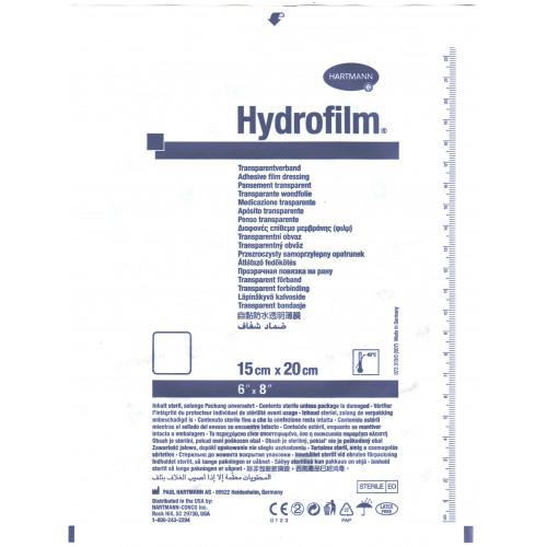 Hydrofilm / Гидрофилм - прозрачная самофиксирующаяся пленочная повязка, 15х20 см