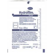 Hydrofilm Plus / Гидрофилм Плюс - самофиксирующаяся повязка с впитывающей подушечкой, 5х7,2 см