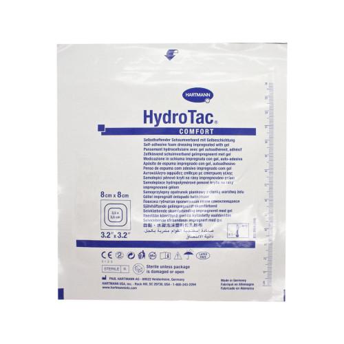 HydroTac Comfort / ГидроТак Комфорт - самоклеящаяся губчатая повязка с гидрогелевым покрытием, 8x8 см
