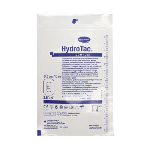 HydroTac Comfort / ГидроТак Комфорт - самоклеящаяся губчатая повязка с гидрогелевым покрытием, 6,5x10 см