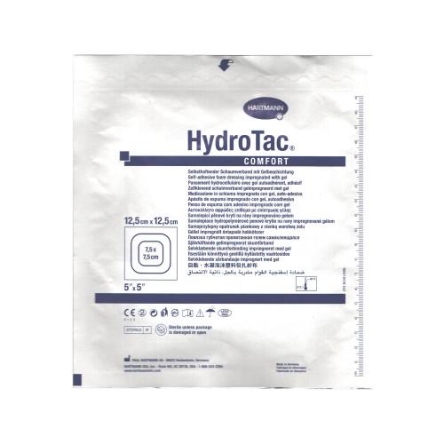 HydroTac Comfort / ГидроТак Комфорт - самоклеящаяся губчатая повязка с гидрогелевым покрытием, 12,5x12,5 см