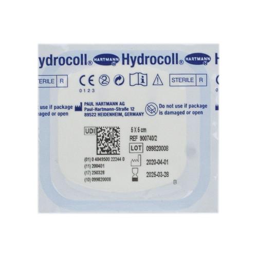 Hydrocoll / Гидроколл - гидроколлоидная повязка, 5х5 см