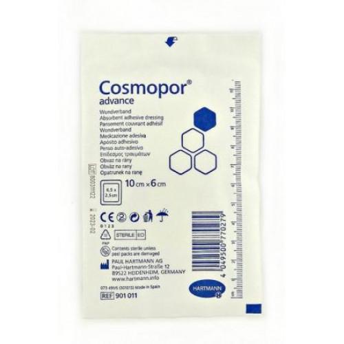 Cosmopor Advance / Космопор Эдванс - самоклеящаяся повязка с технологией DryBarrier, 10x6 см
