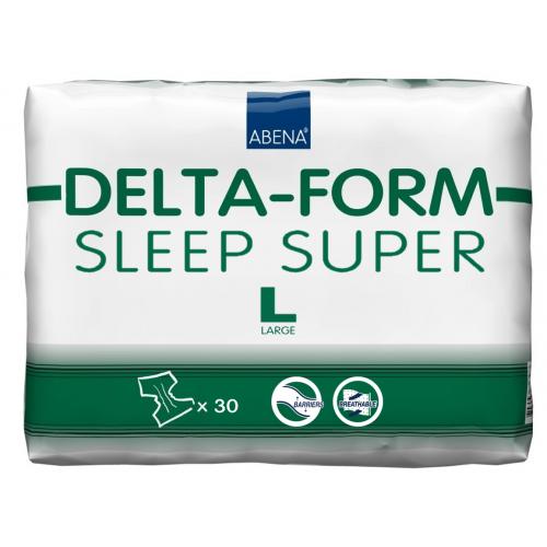 Abena Delta-Form Sleep Super / Абена - подгузники для взрослых, L, 30 шт.