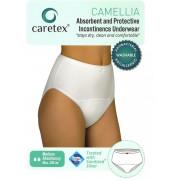 Caretex Camellia / Кертекс Камеллиа - многоразовые впитывающие трусы, S, белые