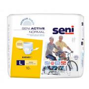 Seni Active Normal / Сени Актив Нормал - впитывающие трусы для взрослых, L, 10 шт.