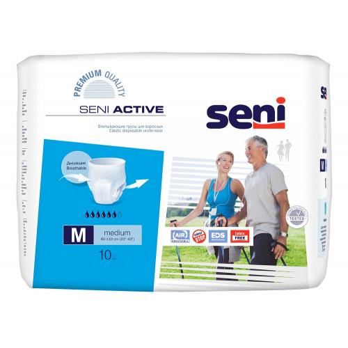 Seni Active / Сени Актив - впитывающие трусы для взрослых, M, 10 шт.