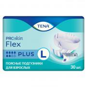 Tena Flex Plus / Тена Флекс Плюс - подгузники для взрослых с поясом, L, 30 шт.