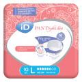 iD Pants For Her / АйДи Пэнтс Фор Хёр - впитывающие трусы для женщин, L, 10 шт.