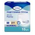 Tena Pants Normal / Тена Пантс Нормал - впитывающие трусы, M, 10 шт.