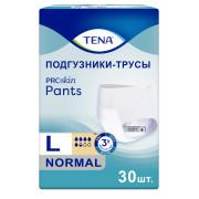 Tena Pants Normal / Тена Пантс Нормал - впитывающие трусы, L, 30 шт.