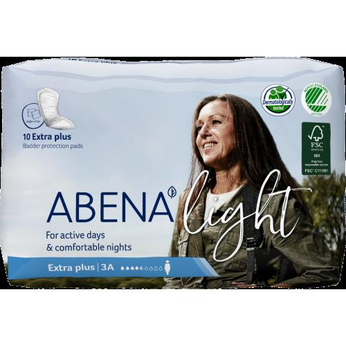 Abena Light Extra Plus / Абена Лайт Экстра Плюс - урологические прокладки, 10 шт.