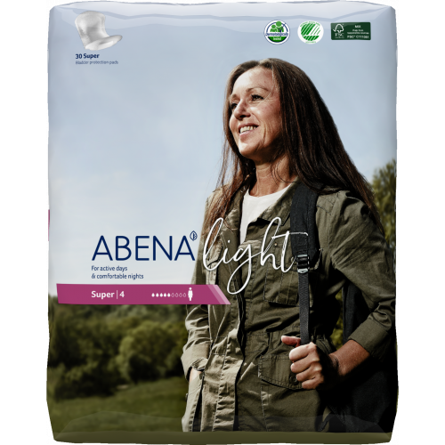 Abena Light Super / Абена Лайт Супер - урологические прокладки, 30 шт.