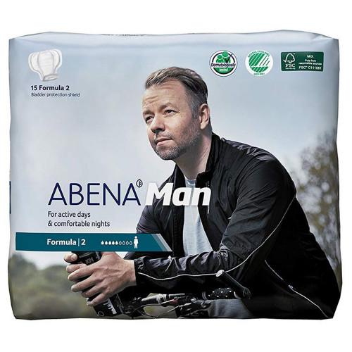 Abena Abri-Man Formula 2 / Абена Абри-Мен Формула 2 - мужские урологические прокладки, 15 шт.