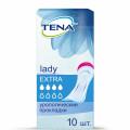 Tena Lady Extra / Тена Леди Экстра - урологические прокладки для женщин, 10 шт.