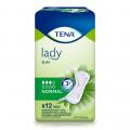 Tena Lady Slim Normal / Тена Леди Слим Нормал - урологические прокладки для женщин, 12 шт.