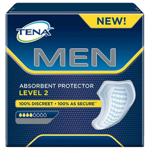 Tena Men Level 2 / Тена Мен Уровень 2 - урологические прокладки для мужчин, 20 шт.