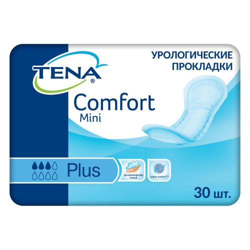 Tena Comfort Mini Plus / Тена Комфорт Мини Плюс - урологические прокладки для женщин, 30 шт.